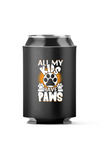 All My Kids have Paws, Love Dogs 4-Pack Can Coolers