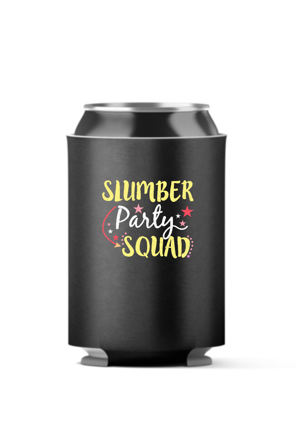 Slumber Party Squad 4-Pack Can Coolers