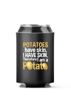 Potato Skin I am a Potato 4-Pack Can Coolers