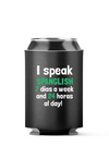 I speak Spanglish Latino Fun 4-Pack Can Cooler