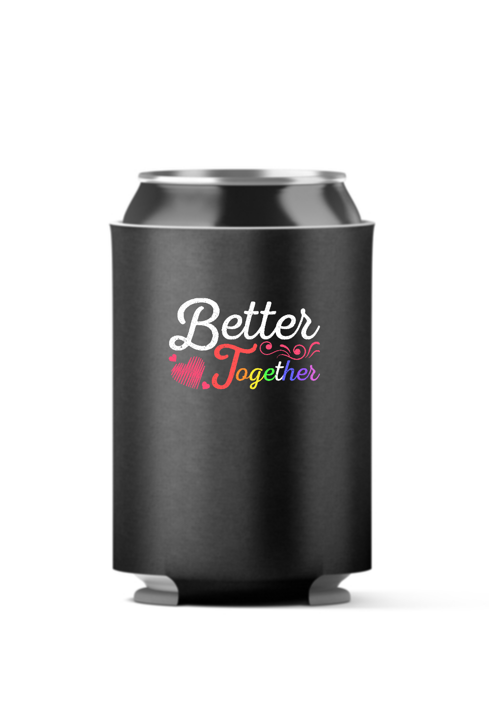 Better Together, LGBT 4-Pack Can Coolers