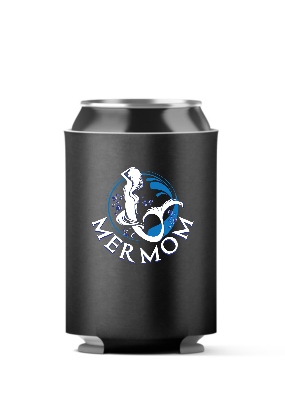 Mermom Mermaid 4-Pack Can Coolers