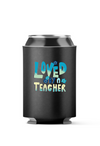 Loved by a Teacher 4-Pack Can Coolers