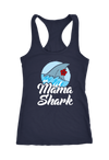 Mama Shark Racerback Tank Top