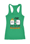 Oh You Got Roasted Racerback Tank Top