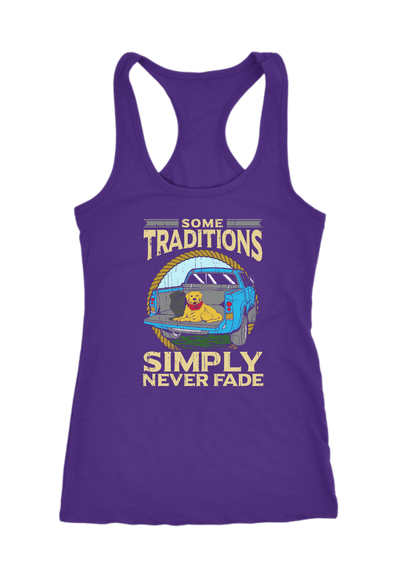 Some Traditions Simply Never Fade Racerback Tank Top