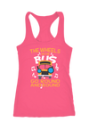 The Wheel on the Bus Go Round Racerback Tank Top