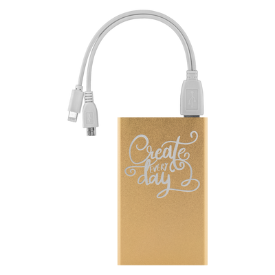 Create Every Day Power Bank