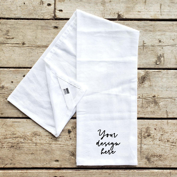 Custom Design Floursack Kitchen Towel