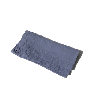 Napkin with Hemstitch Blueberry
