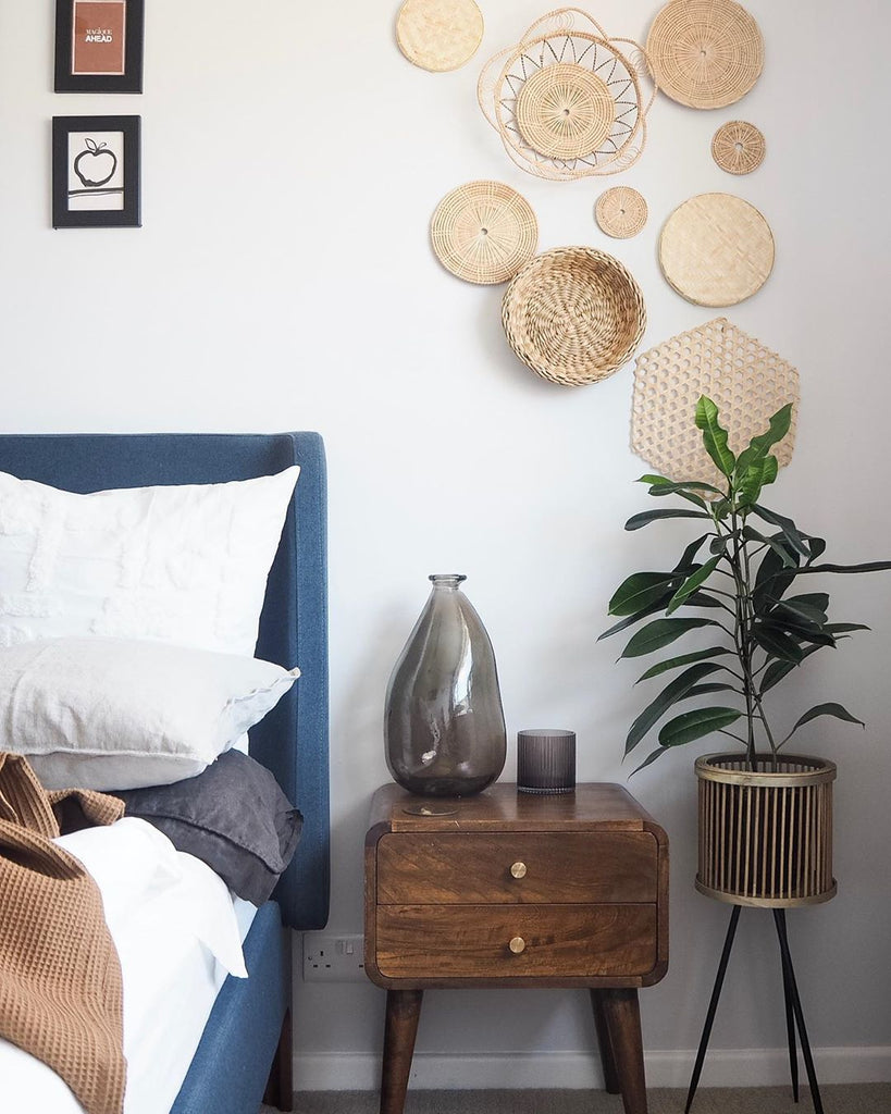 basket wall hangings | Olive & Iris