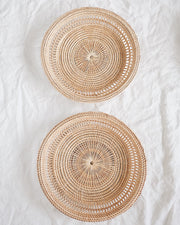 Cherry Basket Wall Hanging Set of 2
