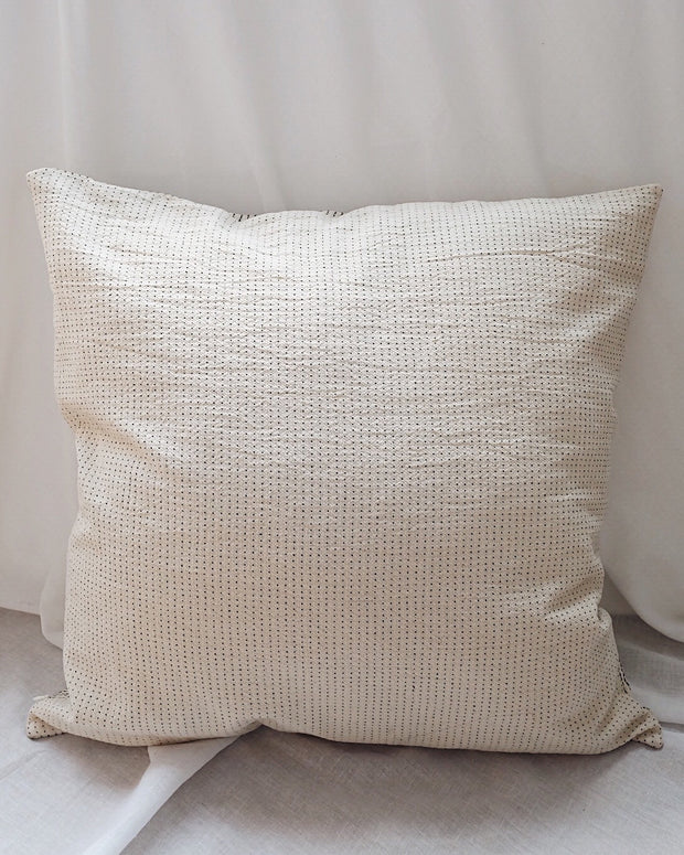 Dots & Stripes Pillow Cover | Olive & Iris