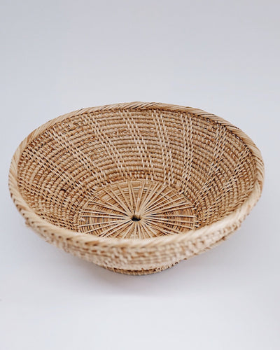 Hand Woven Rattan Bowl, Fruit basket, Fruit bowl | Olive & Iris