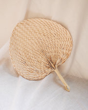 Palm Leaf Hand Fan | Olive & Iris