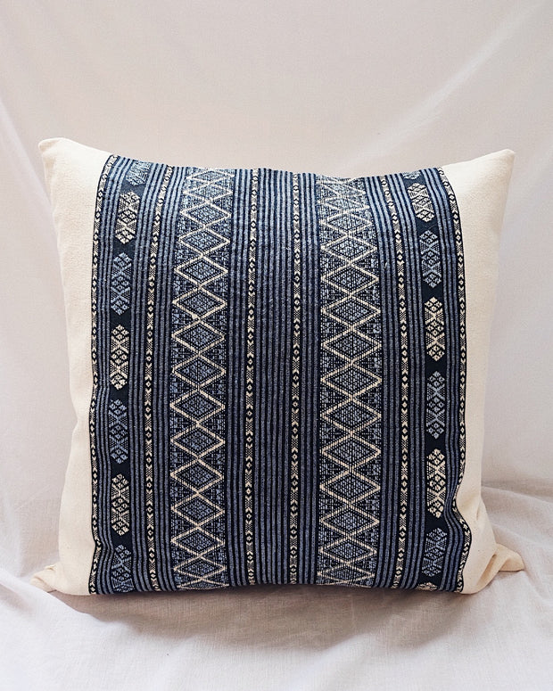 Hill Tribe Handwoven Pillow Cover No.3 | Olive & Iris