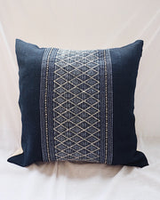 Hill Tribe Handwoven Pillow Cover No.4 | Olive & Iris