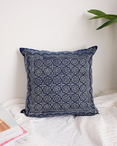 Hmong Hill Tribe Pillow Cover No.2 | Olive & Iris