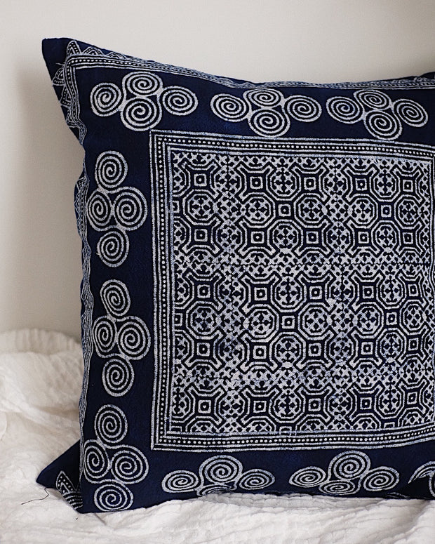 Hmong Hill Tribe Pillow Cover No.4 | Olive & Iris