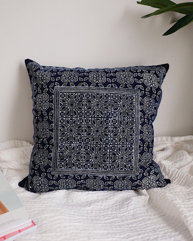 Hmong Hill Tribe Pillow Cover No.5 | Olive & Iris