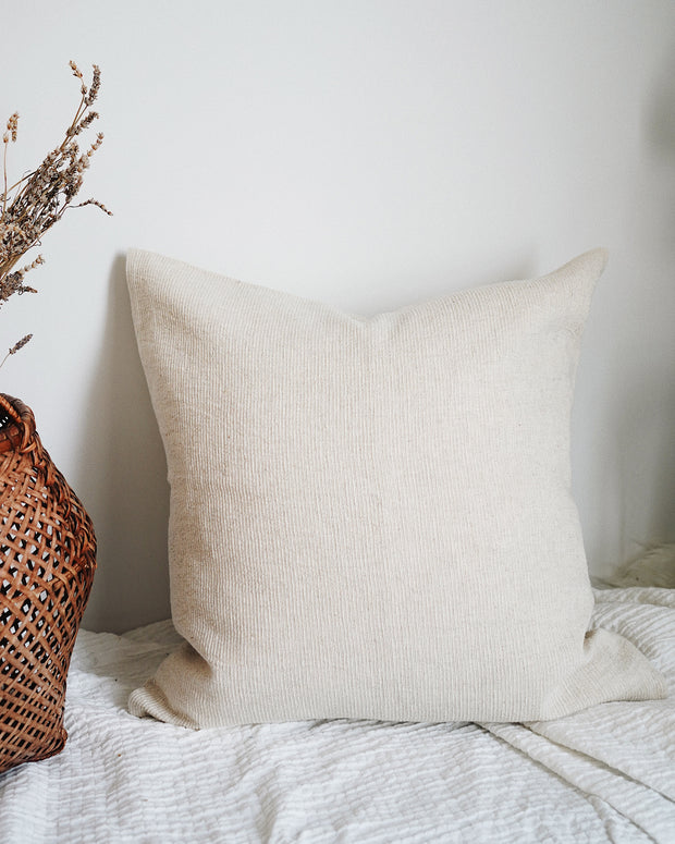 Kaali Pillow Cover | Olive & Iris