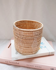 Large Thyme Rattan Utensil Holder | Olive & Iris
