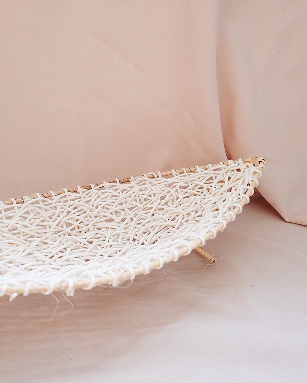 Lotus Woven Elevated Tray | Oliver & Iris