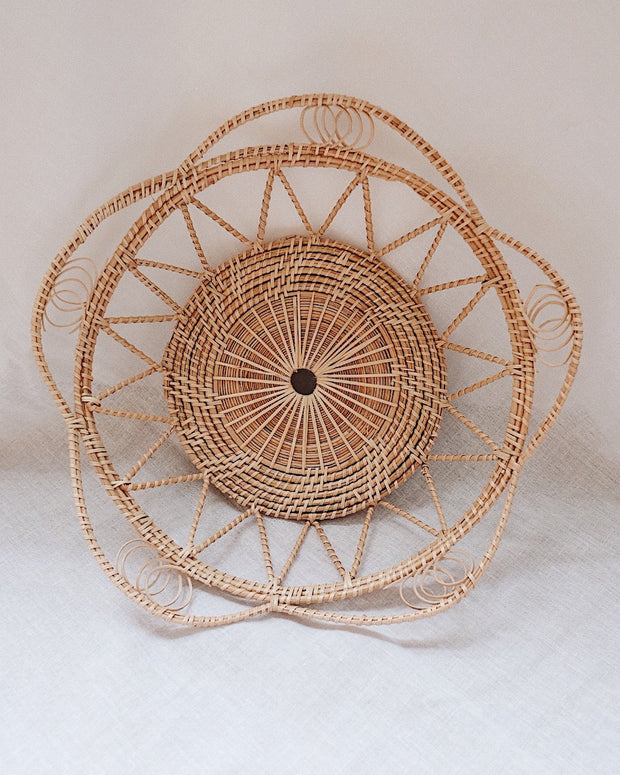 Margarita Medium Rattan Woven Basket