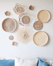 Basket Wall Hangings Set of 10 | Olive & Iris