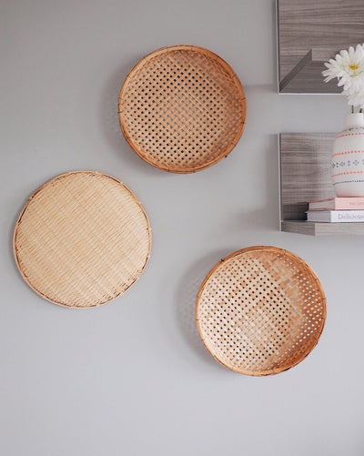 Basket Wall Hangings Set of 3 | Olive & Iris