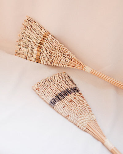 Wicker Decor Fan | Olive & Iris