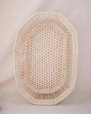 Rosie Oval Rattan Woven Basket | Olive & Iris