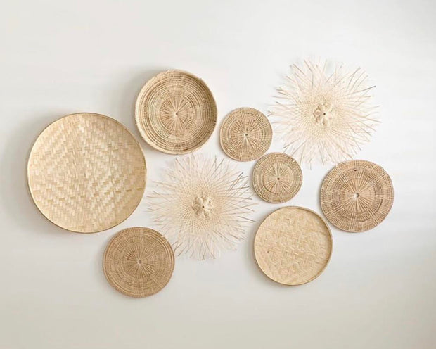 The Coastal Oak x Olive & Iris Basket Wall Hanging Set of 9 | Olive & Iris
