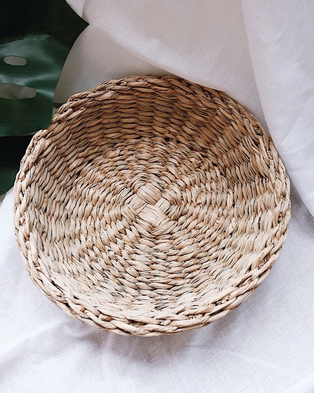 Buttercup Medium Woven Basket, fruits basket | Olive & Iris