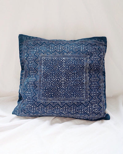 Vintage-Hmong-Hill-Tribe-Cushion-Cover-Olive&Iris