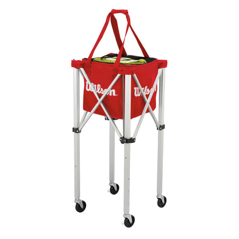 Wilson Tennis Teaching 150 Ball Basket With Wheel - TopSpin Tennis Store