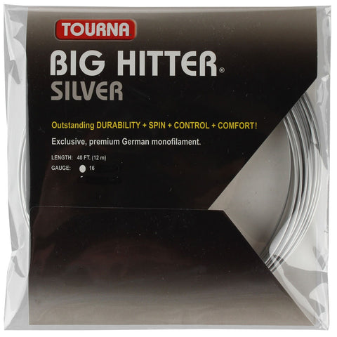 Tourna Big Hitter Silver String Set - TopSpin Tennis Store