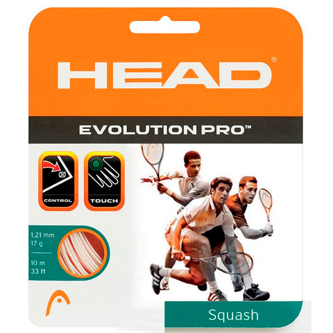 Head Evolution Pro 16G Squash String - TopSpin Tennis Store