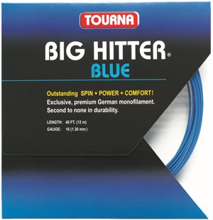 Tourna Big Hitter Blue Rough String Set - TopSpin Tennis Store