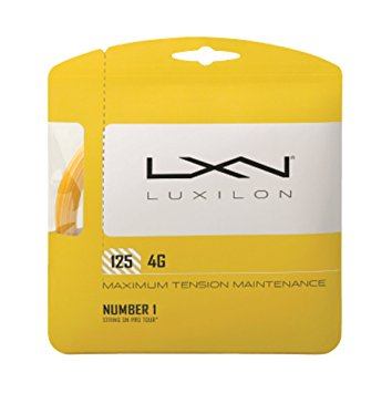 Luxilon 125 4G 16g String Set - TopSpin Tennis Store