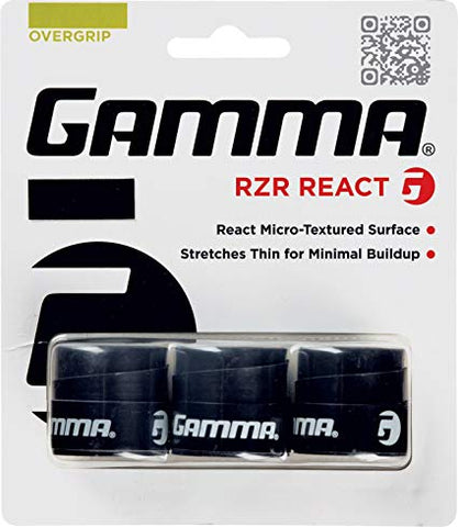 Gamma RZR React Overgrip - TopSpin Tennis Store