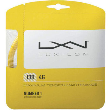 Luxilon 130 4G String Set - TopSpin Tennis Store