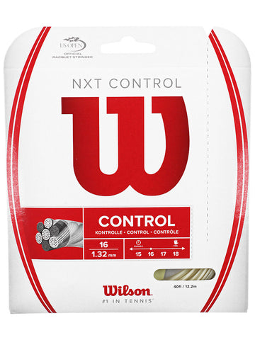 Wilson NXT Control 16g String Set - TopSpin Tennis Store