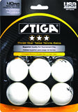 Stiga Three-Star Table Tennis Balls - TopSpin Tennis Store
