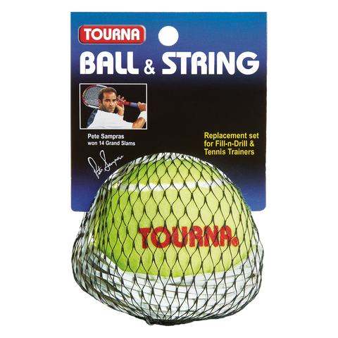 Tourna Ball & String Replacement Tennis Trainer
