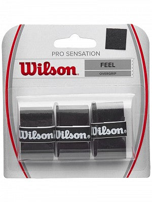 Wilson Pro Sensation Overgrip 3 Pack - TopSpin Tennis Store