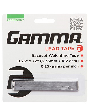 Gamma Lead Tape - TopSpin Tennis Store