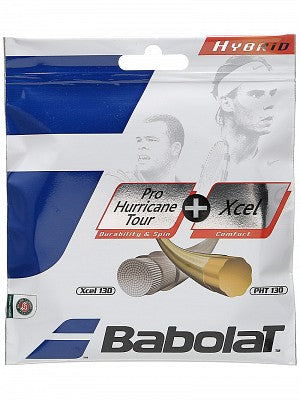 Babolat Pro Hurricane Tour+Xcel Hybrid - TopSpin Tennis Store