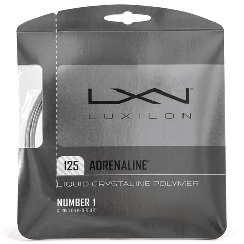 Luxilon Adrenaline 16L String Set - TopSpin Tennis Store