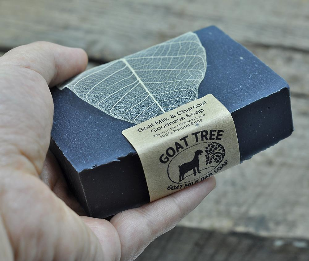 Goat Milk & Charcoal Goodness Soap